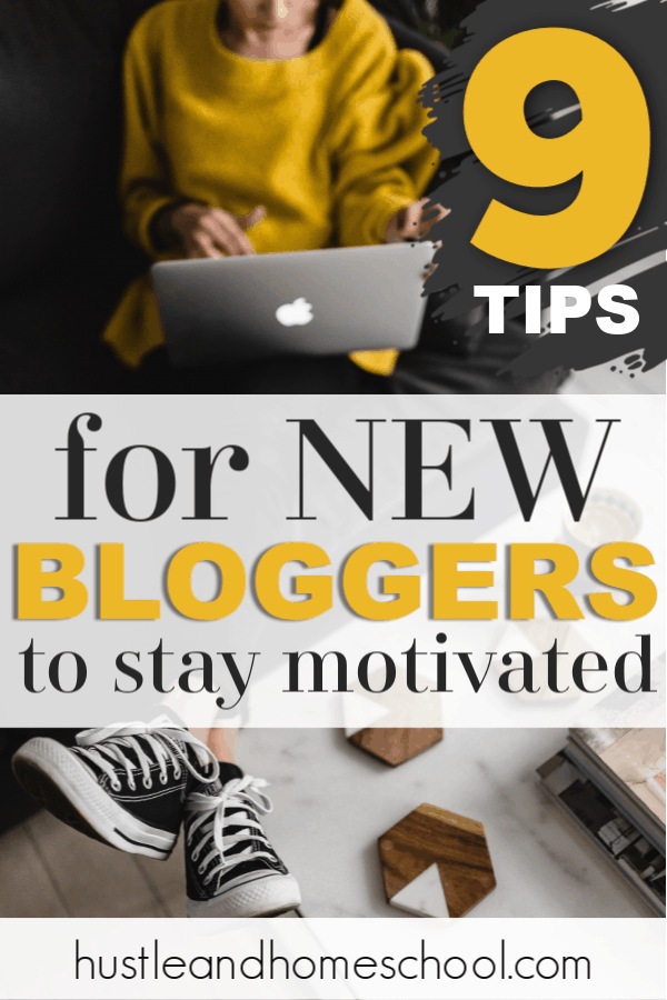 Have you lost motivation because you're not seeing progress as a new blogger? Try these 9 tips for new bloggers to restore your motivation and get back on track to pursuing your dreams.