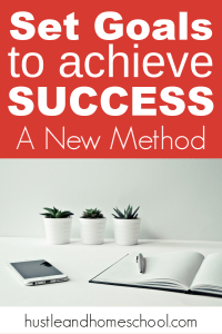 Goal setting can be so challenging. Try this new method to set goals to achieve success.