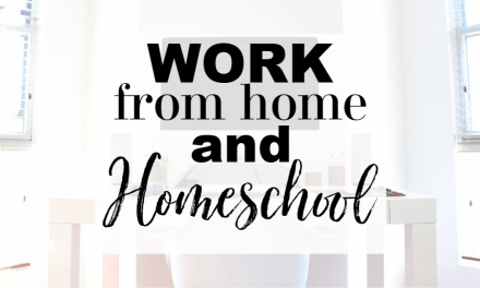 Work from Home and Homeschool | A How-to Guide