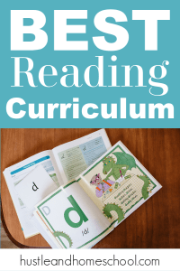 Teaching kids to read can be so intimidating for homeschool moms. This is the best reading curriculum that is open and go and will make learning to read fun!