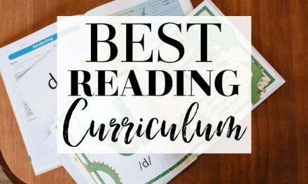 Best Reading Curriculum for K-2 Homeschoolers