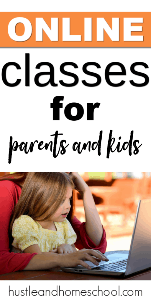 Want to learn something new? Introduce an enrichment class for your kids? Check out this awesome list of online classes for parents and kids. There's something for everyone!