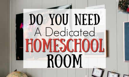 Do You Need a Dedicated Homeschool Room?