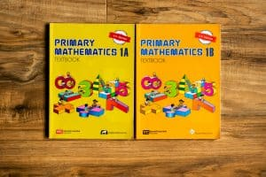 Primary mathematics textbooks 1A and 1B