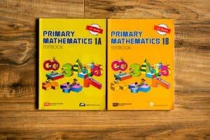 Primary mathematics textbooks 1A and 1B