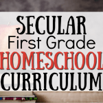 First Grade Curriculum