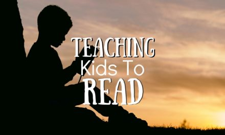 Teaching Kids to Read – It's Not as Scary as You Think!