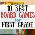 10 Best Board Games for First Graders