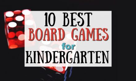 10 Best Board Games for Kindergarteners