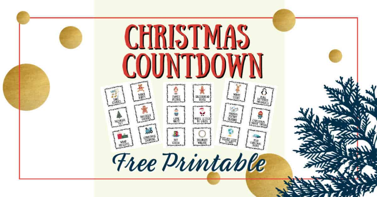 Christmas Activities for Homeschoolers | Free Printable