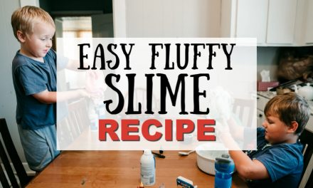 Easy Fluffy Slime Recipe