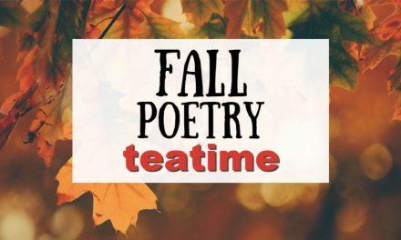 Fall Poetry Teatime