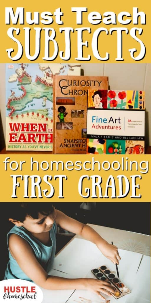 Figuring out which subjects to teach in first grade can be challenging. These are the ones you must teach!
