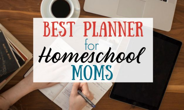 Best Planner for Homeschool Moms
