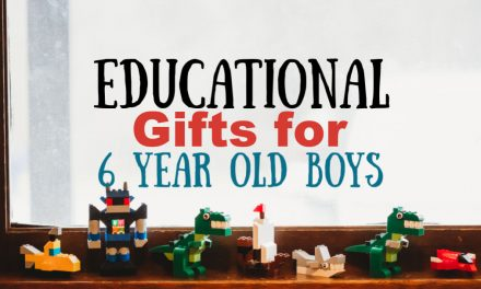 Educational Gifts for 6 Year Old Boys