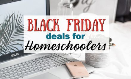 Black Friday Homeschool Deals