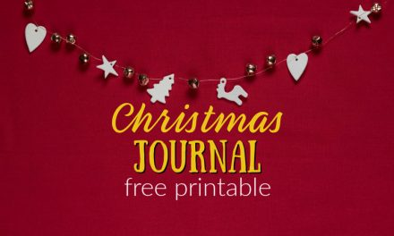 Christmas Journal for Kids | Free Printable