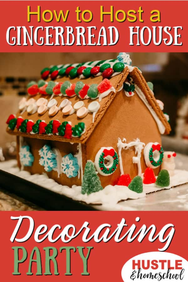 How to Host a Gingerbread House Decorating Party