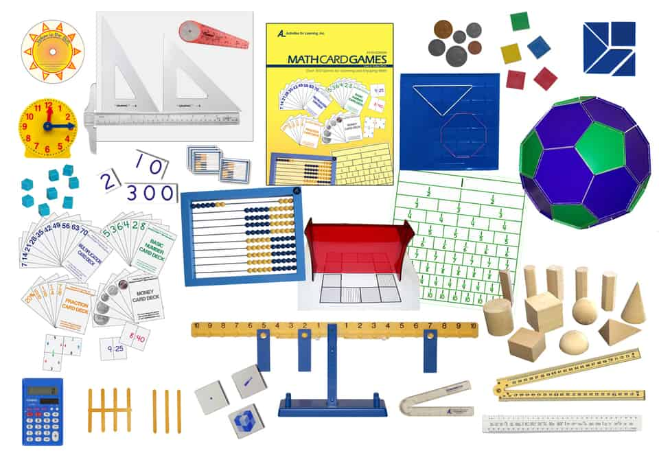 Hands-on math manipulatives