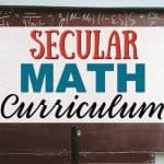Secular Math Curriculum for Homeschoolers