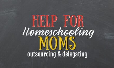 Help for the Homeschool Mom