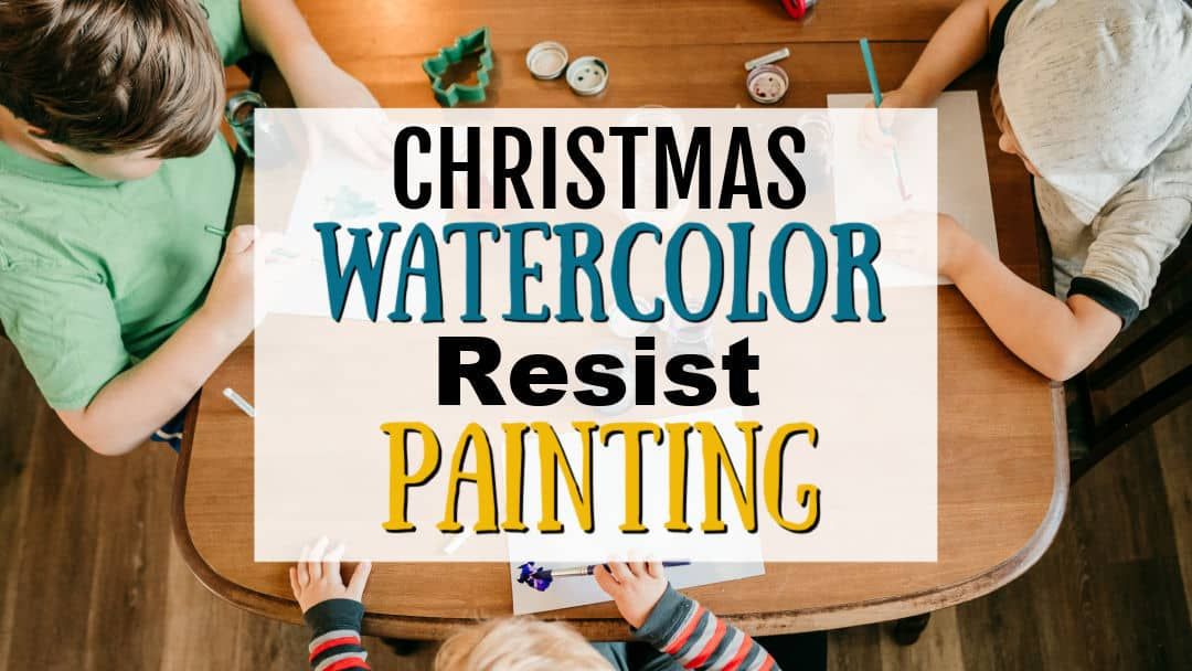 Christmas Watercolor Painting for Kids